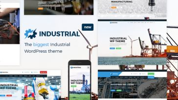 Download Industrial v.3.4. - Factory, Industry, Manufacturing WordPress Theme Free