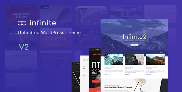 Download Infinite  - Responsive Multi-Purpose WordPress Theme Free