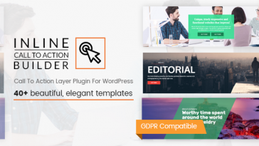Download Inline CTA Builder Call To Action Layer For WordPress - Free Wordpress Plugin