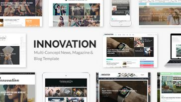 Download INNOVATION - Multi-Concept News, Magazine & Blog Theme Free