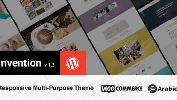 Download Invention v.4.3 - Responsive Multi-Purpose WordPress Theme Free