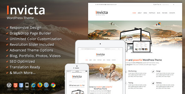 Download Invicta - WordPress Theme Free