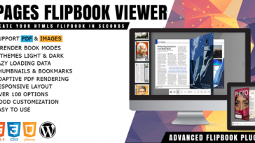 Download iPages Flipbook PDF Viewer For WordPress - Free Wordpress Plugin