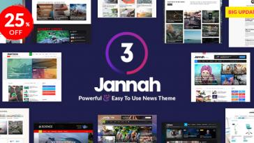 Download Jannah News v.3.0.1 - Newspaper Magazine News AMP BuddyPress Free