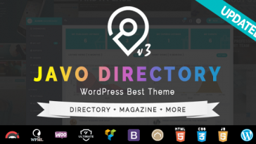 Download Javo - Directory WordPress Theme Free