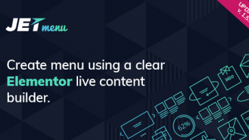 Download JetMenu Mega Menu for Elementor Page Builder - Free Wordpress Plugin