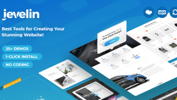 Download Jevelin - Multi-Purpose Premium Responsive WordPress Theme Free