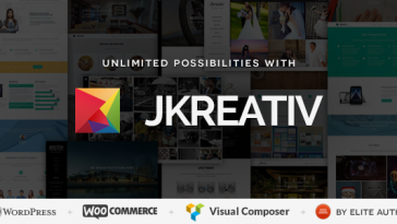 Download Jkreativ v.3.1.1 - Multilayer Parallax MultiPurpose Theme Free