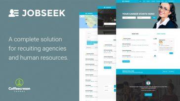 Download Jobseek - Job Board WordPress Theme Free