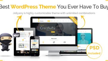 Download Jollyany - Corporate Multi Purpose WordPress Theme Free