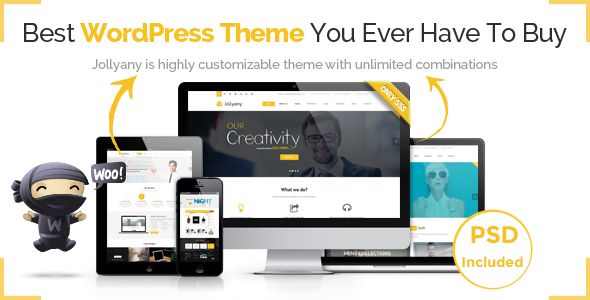 Download Jollyany - Corporate Multi Purpose WordPress Theme Free