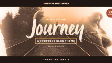Download Journey - Personal WordPress Blog Theme Free