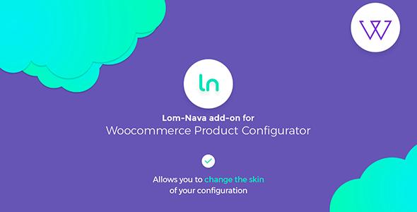 Download Lom Nava skin for Visual Product Configurator   – Free WordPress Plugin