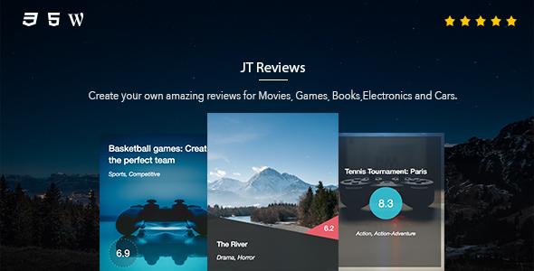 Download JT Reviews  - Free Wordpress Plugin