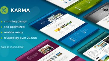 Download Karma - Responsive WordPress Theme Free