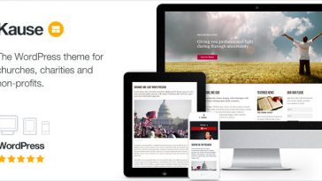 Download Kause v.5.4.3 - Multi Purpose WordPress Theme Free