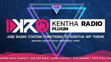 Download KenthaRadio Addon for Kentha Music WordPress Theme To Add Radio Station and Schedule Functionality - Free Wordpress Plugin