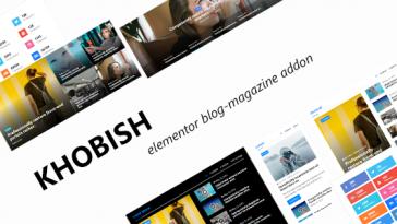 Download Khobish Blogging Package for Elementor Page Builder - Free Wordpress Plugin