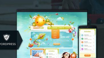 Download KiddoTurf - Kids WordPress Theme Free