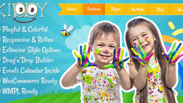 Download Kiddy v.3.3.1 - Children WordPress theme Free