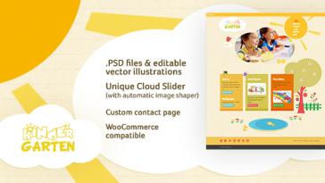 Download Kindergarten v.3.0.2 - WordPress Theme Free