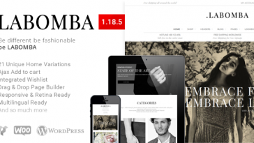 Download Labomba - Responsive Multipurpose WordPress Theme Free