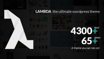 Download Lambda - Multi Purpose Responsive Bootstrap Theme Free
