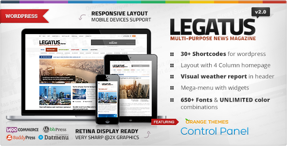 Download Legatus - Responsive News/Magazine Theme Free