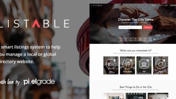 Download LISTABLE - A Friendly Directory WordPress Theme Free