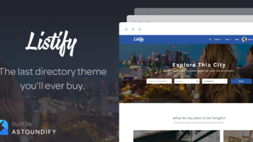 Download Listify - WordPress Directory Theme Free