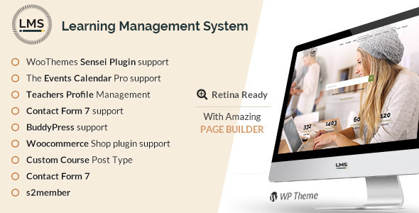 Download LMS - Learning Management System, Education LMS WordPress Theme Free