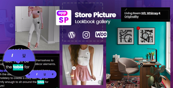 Download Lookbook Instagram & Gallery Woocommerce WordPress  - Free Wordpress Plugin