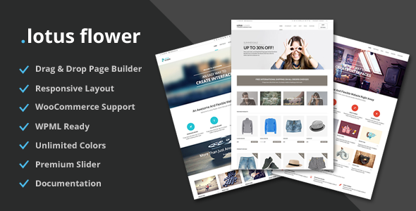 Download Lotus Flower - Flexible Multi-Purpose Shop Theme Free