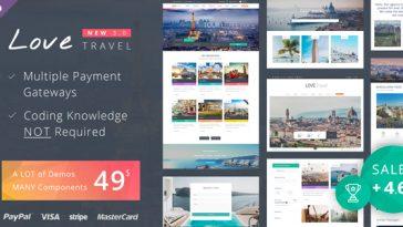 Download Love Travel - Creative Travel Agency WordPress Free