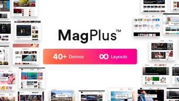 Download MagPlus - Blog & Magazine WordPress theme for Blog, Magazine Free