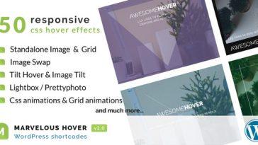 Download Marvelous Hover Effects WordPress plugin - Free Wordpress Plugin