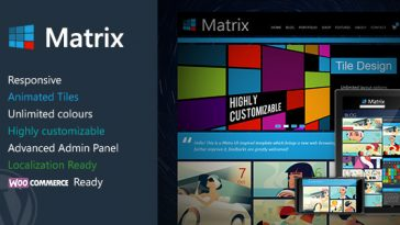 Download Matrix v.2.4.2 - Responsive WordPress Theme Free