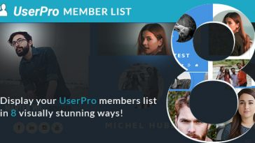 Download Memberlist layouts for UserPro  - Free Wordpress Plugin