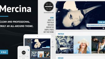 Download Mercina - MultiPurpose WordPress Theme Free