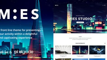 Download MIES - An Avant-Garde Architecture WordPress Theme Free