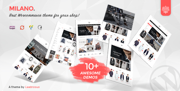 Download Milano v.1.7.3 - Awesome Fashion Responsive WooCommerce Theme Free