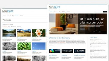 Download MiniBuzz - Minimalist Business WordPress Theme Free
