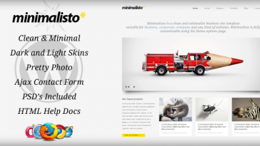 Download Minimalisto - Premium WordPress Theme Free