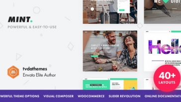 Download Mint v.3.1.2 - Creative Multi-Purpose WordPress Theme Free