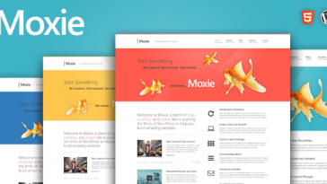Download Moxie - Responsive Theme for WordPress Free