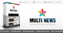 Download Multinews - Multi-purpose WordPress News,Magazine Free