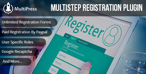 Download MultiPress Pro WP Multi Step Registration Form Plugin – Free  WordPress Plugin