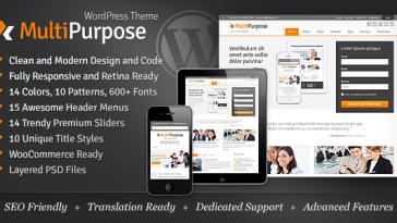 Download MultiPurpose v.4.0.1 - Responsive WordPress Theme Free