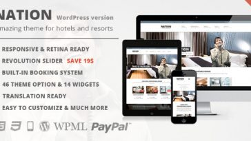 Download Nation Hotel v.1.2.3 - Responsive WordPress Theme Free