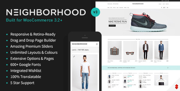 Download Neighborhood - Responsive Multi-Purpose Shop Theme Free